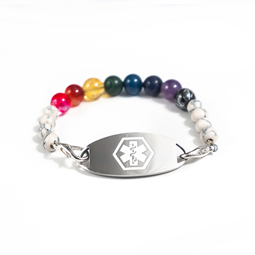 MEDICAL - CHAKRA BEADS - 2 COLOUR OPTION
