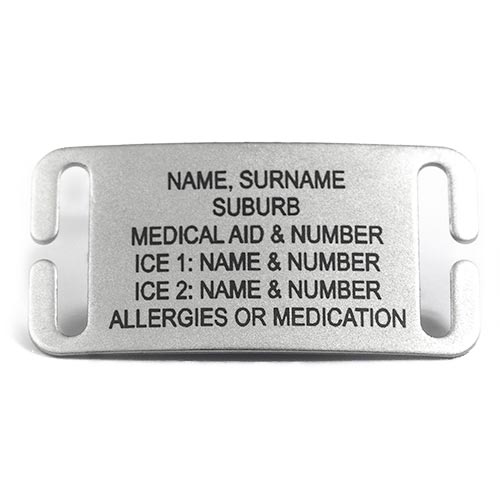 Replacement Tag Flat Curved