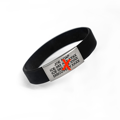 This REPLACEMENT BAND THIN SILICONE MULTIPLE COLOURS is both soft and waterproof and has no clasp. Get yours today!