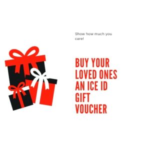 ICE ID Gift Vouchers